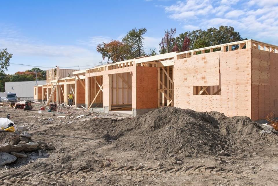Endicott Woods Building 1 Framing - Make Your Reservation Now