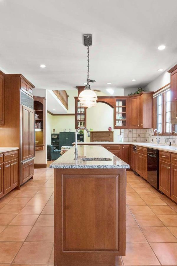 Kitchen Photograph from 17 Kilronian Road, Westwood MA