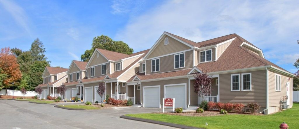 Exterior Photograph of Endicott Woods Model Home