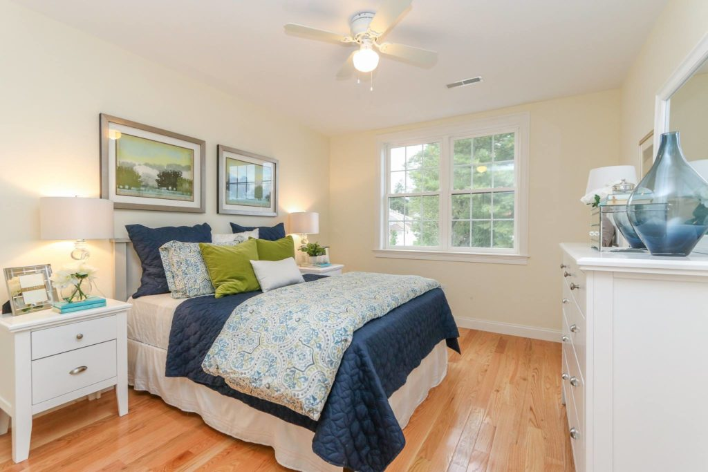 Photograph of First Floor Master Bedroom at Endicott Woods