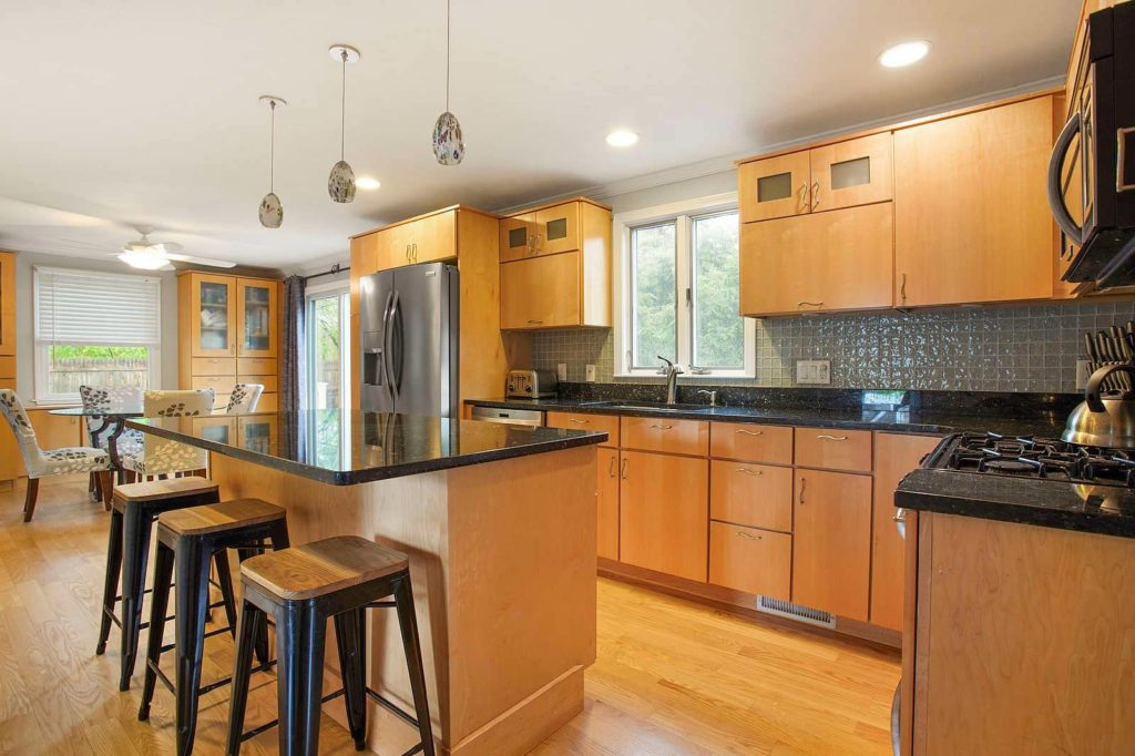 Photograph of Kitchen at 46 Corbett Avenue in Dedham MA