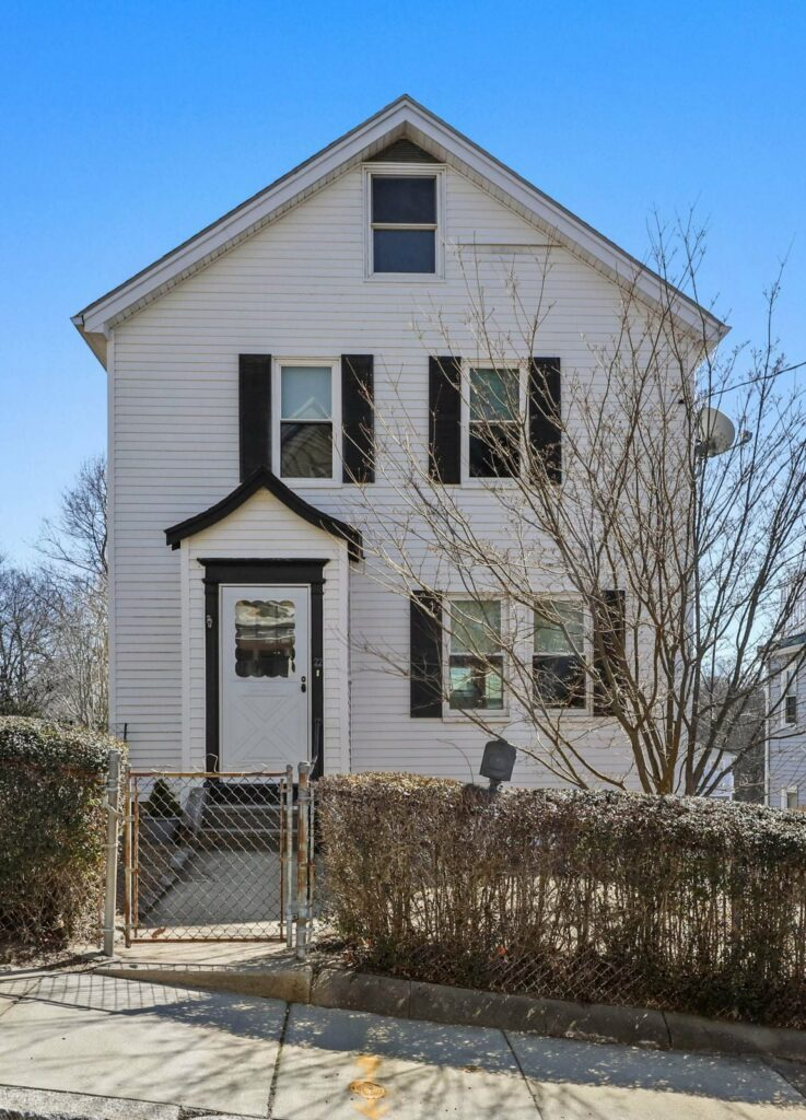 Front exterior photograph of 22 Winston Street in Roslindale MA
